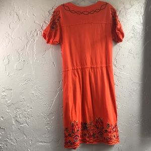 Johnny Was Dresses - Johnny Was Embroidered Tee Shirt Dress